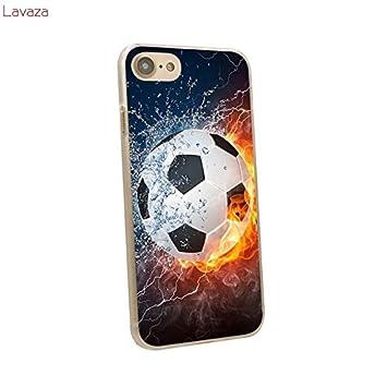Misc - Carcasa para iPhone 7 (plástico), diseño de balón de fútbol ...