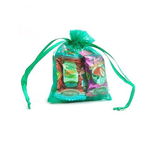nalmatoionme Organza Kordelzug Candy Geschenk Mesh-Taschen für Hochzeit Party