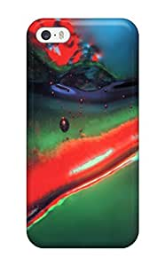 Durable Protector Case Cover With Fluid Abstract Hot Design For Iphone 5/5s by icecream design