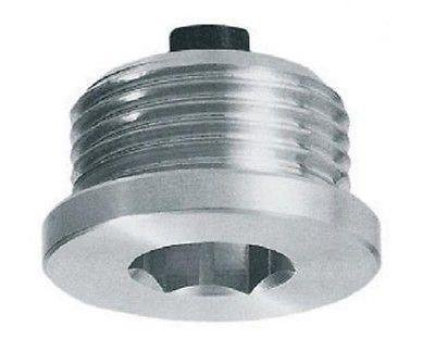 Hydraulic magnetic oil-drain plug with hex slot, 1/2' BSP, TCEM3G 1/2 BSP Flowfit