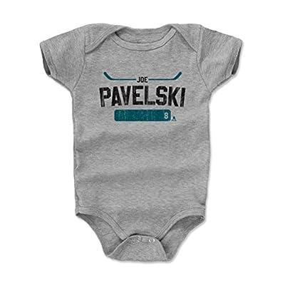 500 LEVEL's Joe Pavelski Baby Onesie - San Jose Hockey Baby Clothes - Joe Pavelski Athletic