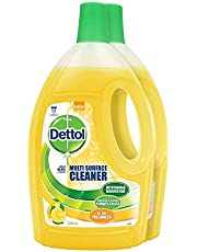 Dettol Multi Surface Cleaner Value Pack, Citrus, 1.5L (Pack of 2)