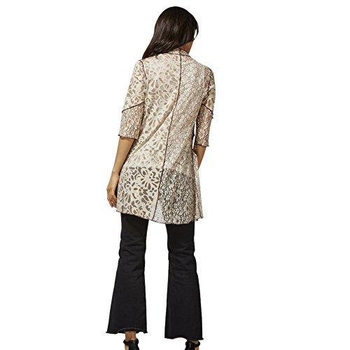 Sybell Automne féminine Half Mode manches Manteaux Manteau d'hiver Jeux grand public Vêtements S6172