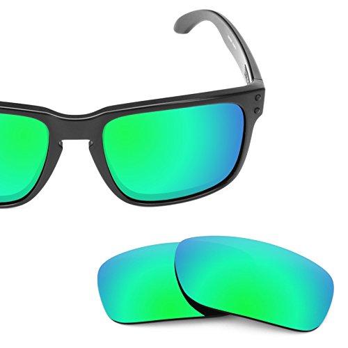 Mirrorshield Holbrook Oakley Polarizados De No Opciones Esmeralda Múltiples Repuesto Verde — Para Lentes I4vCqw