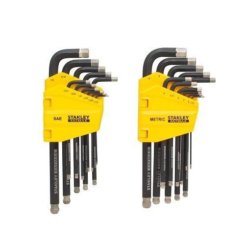 Stanley FMHT80763 Fatmax 22Pc Diamond Tip Hex Key Set