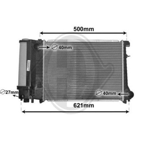 Diederichs DCM1542 Radiator, radiator: