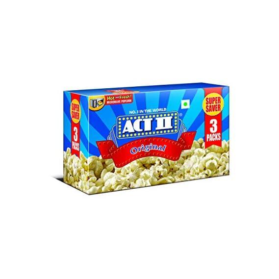 ACT II Microwave Popcorn Original, 297g