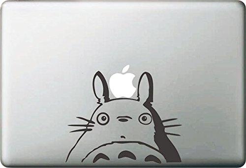 """Beon Totoro Decal Removable Vinyl Decal for Apple Macbook Pro Air Retina Mac 13"""""""