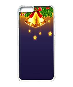 VUTTOO Iphone 6 Case, Christmas Bells Decorations Illustration Hard Clear Case Cover Protector for Apple iPhone 6 4.7 Inch