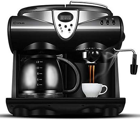 Aokoy Máquina de café Espresso con Leche vaporizador, Cafetera ...
