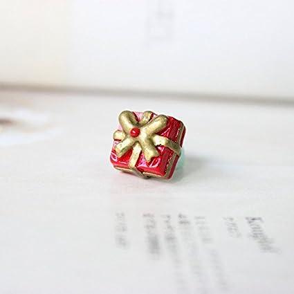 7045dd3b4a3ad Buy 10pcs 3D Resin Christmas Reindeer/Snowman/Santa Claus/Tree/Gift ...
