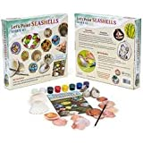 Let's Paint SEASHELLS Book and kit