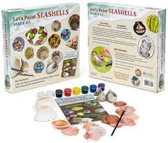 Let's Paint SEASHELLS Book and kit from Unknown