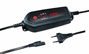 AEG 97102 Cargador de batería controlado por microprocesador LP 3.8 para baterías de 12V, hasta 120 Ah, CE, IP 65