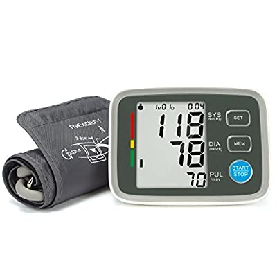 FAM-health Automatic Digital Upper Arm Blood Pressure Monitor Clinically Validated Sphygmomanometer, FDA Approved