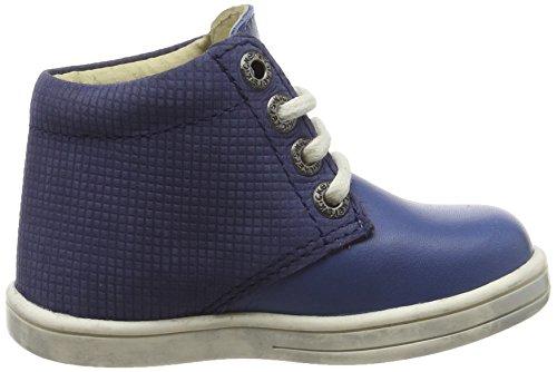 Kickers Tradi T - Zapatos de primeros pasos Bebé-Niñas Azul - Bleu (Marine)