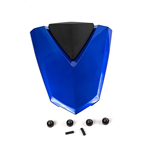 Nawenson Motorcycle ABS Plastic Rear Seat Cover Fairing Cowl For For Yamaha Yzf -R3 2015-2016 Yzf- R25 2013-2016 (Blue)