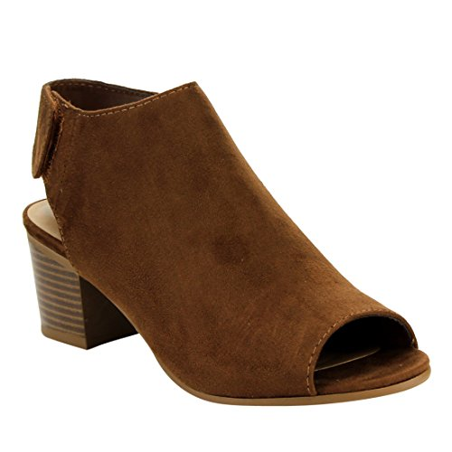 sale retailer 5d5de 9fc24 Cityclassified IB69 Women s Women s Women s Stacked Block Heel Cutout Ankle  Strap Bootie B01NAN5FX3 Shoes ef3338