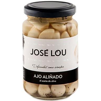 Ajo Aliñado al Aceite de Oliva (370 g) - José Lou: Amazon.es ...
