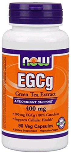 NOW FOODS EGCG 400mg Green Tea, 90 CT