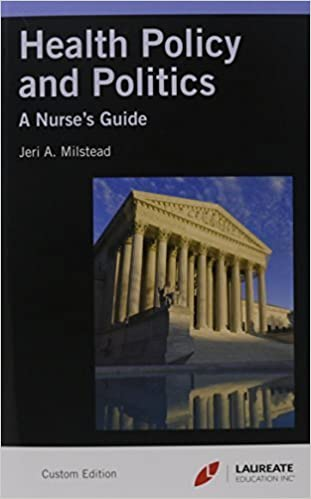 Health Policy & Politics + Access Code 4 Har/Psc edition by Milstead, Jeri A. (2012)