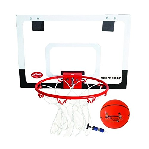 Le Petit Sports - Mini Basket Ball Hoop Set with Ball - 18-inch