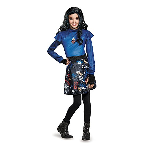 Disguise 88108L Evie Isle Of The Lost Classic Costume, Small (4-6x) ()