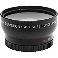 1set 52MM 0.45x Wide Angle Macro Lens for Nikon D3200 D3100 D5200 D5100