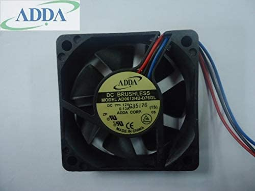 FOR ADDA DC12V 6CM ball AD0612HB-D76GL 606015mm 60mm DC brushless cooling fan