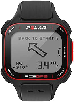 Polar RC3 - Reloj con medidor de frecuencia cardíaca y GPS