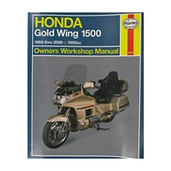 amazon com clymer repair manual for honda gl1800 goldwing 01 05 rh amazon com 2005 gl1800 owners manual 2005 honda goldwing service manual
