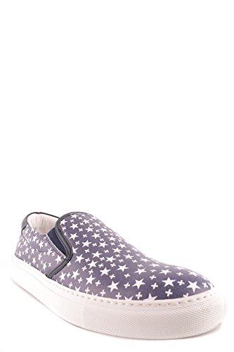 Slip On Alessandrini Uomo MCBI086602O Daniele Pelle Sneakers Blu Alessandrini Daniele tqP7gwBq