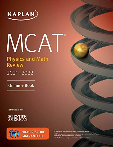 MCAT Physics and Math Review 2021-2022: Online