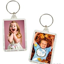 12 Photo Frame Keychains