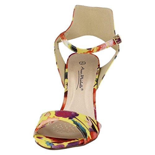 Ladies Ladies Anne Sandals Sandals Yellow Ladies Michelle Yellow Anne Anne Michelle Michelle qtwxpqA6O