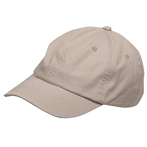Chino Twill Hat (Youth Cotton Washed Chino Twill Cap - Stone)