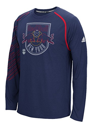 new york Rouge  bulls adidas mls « fréquence  » à long manche   fréquence haut rendeHommes t aad645
