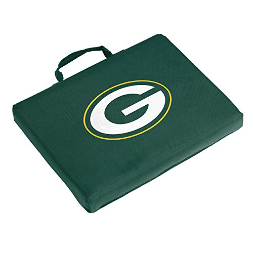 Mlb Logo Seat Cushion - Logo Brands NFL Green Bay Packers Bleacher Cushion, One Size, Hunter