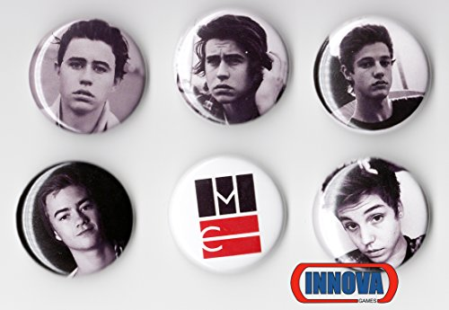 MAGCON TOUR BUTTONS (6 Pack) 1