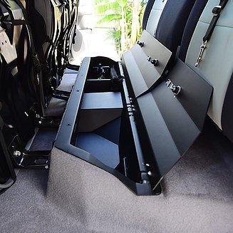 Toyota Truck Accessories >> Amazon Com Esp Truck Accessories Locking Under Seat Storage For
