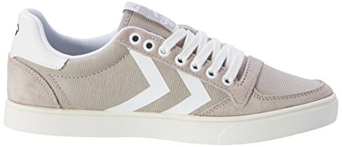 Stadil Zapatillas Dove Unisex Lo Hummel Canvas Waxed Top Slimmer Adulto Gris HxqYBBw5