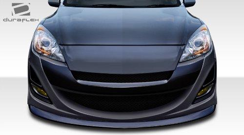 3 Wide Kit Body (Duraflex ED-MEB-787 X-Sport Front Bumper Cover - 1 Piece Body Kit - Fits Mazda Mazda 3 2010-2013)