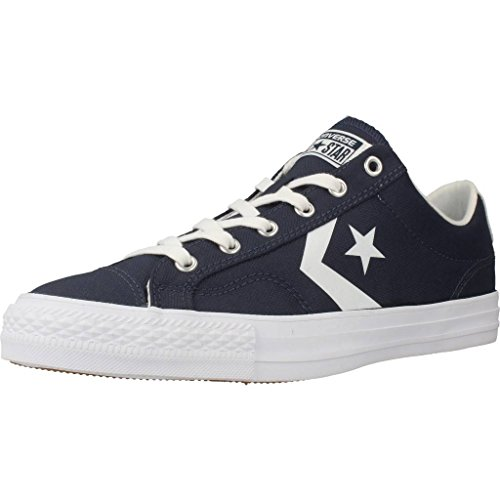 Converse Mens Star Player Ox Canvas Trainer Blu / Bianco
