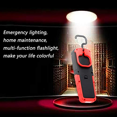 MSOO LED Camping Light Emergency Maintenance Super Bright Flashlight Work LampOutdoor