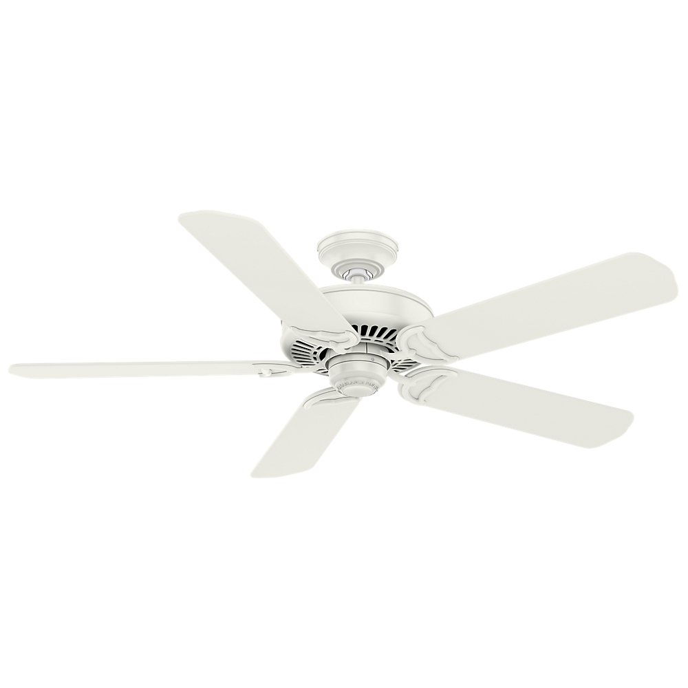 Casablanca Fan Company 55068 Panama 54'' Ceiling Fan with Wall Control, Large, Fresh White