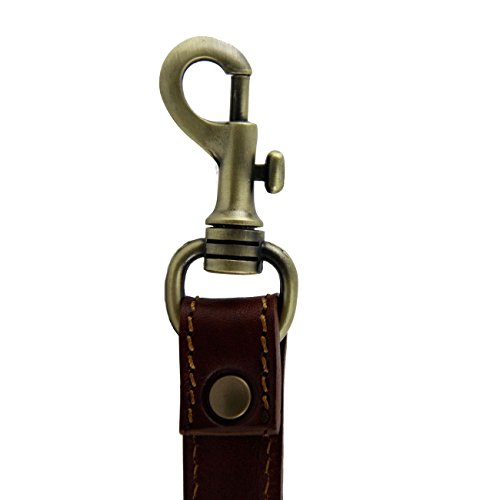 Tuscany Leather Bandolera ajustableen piel para maletínes Rojo Accesorios en piel para escritorio Miel