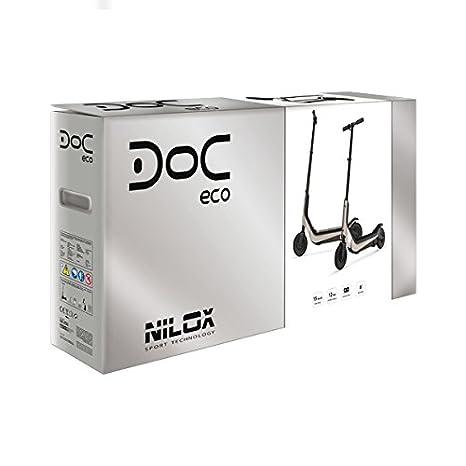 Nilox Doc Eco – Patinete eléctrico, Doc Eco, Plateado