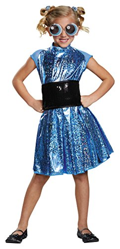 Bubbles Deluxe Powerpuff Girls Cartoon Network Costume, (Him Powerpuff Girls Halloween Costume)