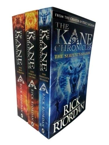 The Kane Chronicles Collection 3 Books Set Pack RRP: 28.97 (Rick Riordan)