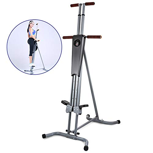 SHZOND Vertical Climber Fitness Exercise Step Climber for Home Gym Full Body Fitness Workout Cardio Climbing Machine (P8006)